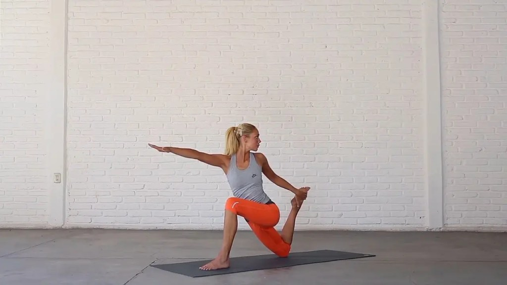 Balancing Low Lunge Twist—Yoga For Fighters