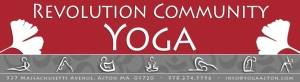 Revolution Community Yoga in Acton, MA