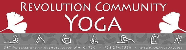 Revolution Community Yoga in Acton, MA