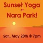 Sunset-Yoga-at-Nara-Park