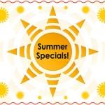 2016 Summer Specials Graphic