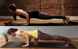 Why you should only jump back to chaturanga, and never jump back to plank