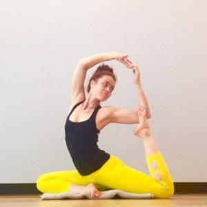 Naginyasana - Mermaid Pose - Dove Pose - Yoga Backbend