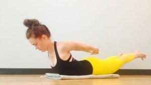 yoga pose, shalambasana, salambasana, locust pose, yoga backbend