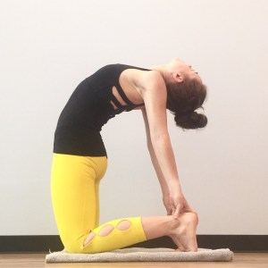ustrasana camel pose yoga