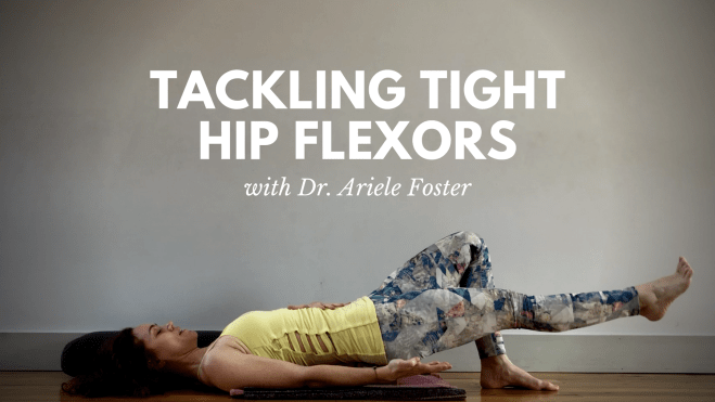 Supine psoas strengtheners with yoga block