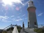 Little Lighthouse Headstand, Rottnest Island, WA, Australia
