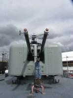 HMAS Vampire Headstand, Sydney, NSW, Australia