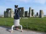 Stonehenge Headstand, UK