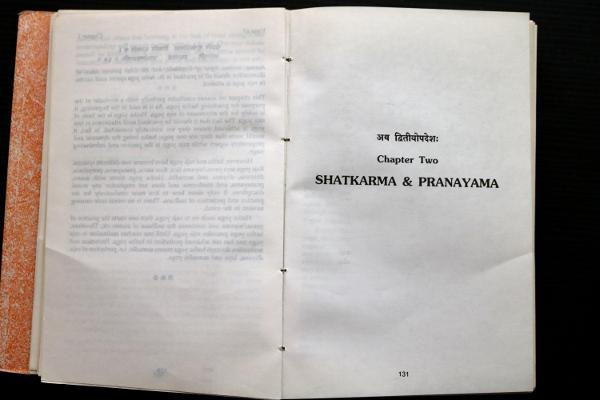 Hatha Yoga Pradipika:Chapter Two, Shatkarma & Pranayama