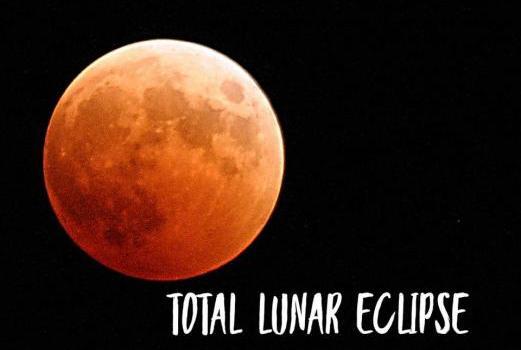 Rimedi astrologici per l'eclissi lunare totale di oggi, 31 gennaio 2018