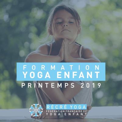 formation yoga enfant Fédération française de yoga enfant récré yoga