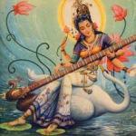 Force et énergie de Sarasvati : Connaissance et sagesse.