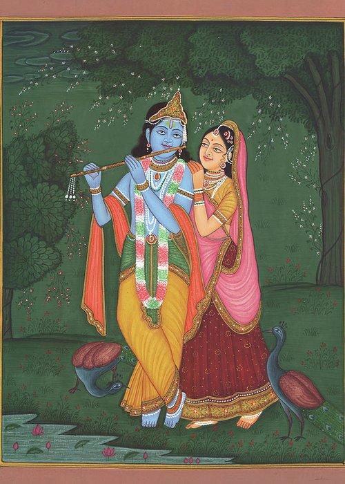 Holi est également la célébration de l'amour de Krishna et de Radha. En effet, alors qu'il n'était encore qu'un bébé, Krishna fut empoisonné par une démone et il en garda la peau bleue. (Vous avez peut-être remarqué que dans les légendes indiennes, tous les poisons laissent une trace bleue, la trace de la transcendance.)