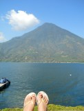 volcano feet