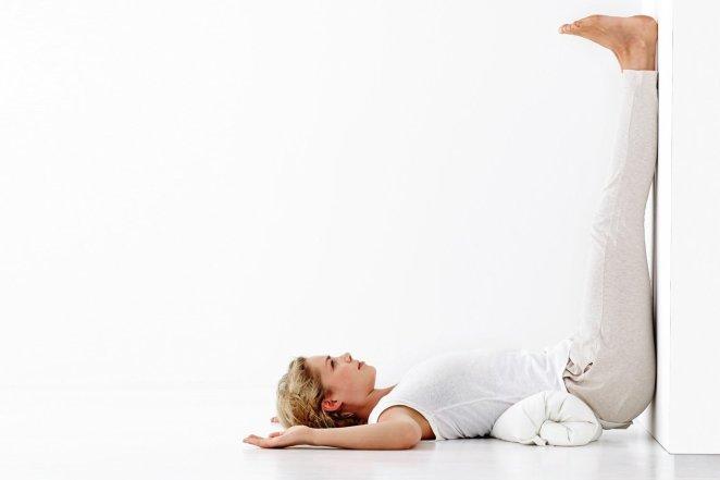 Fertility Yoga Pose to Thicken Uterine Lining