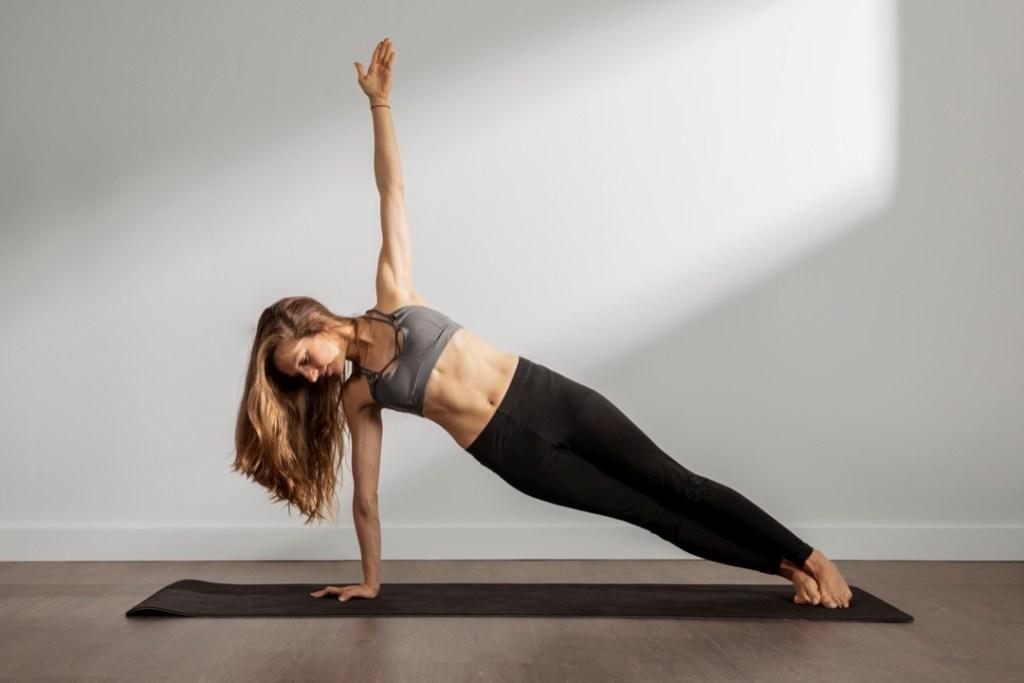 Yoga pose for Building Strength