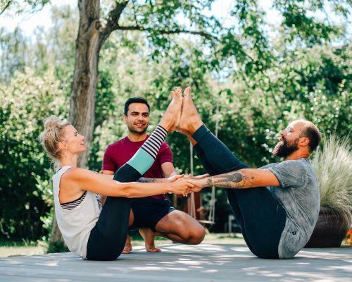 Partners Yoga in Heidelberg