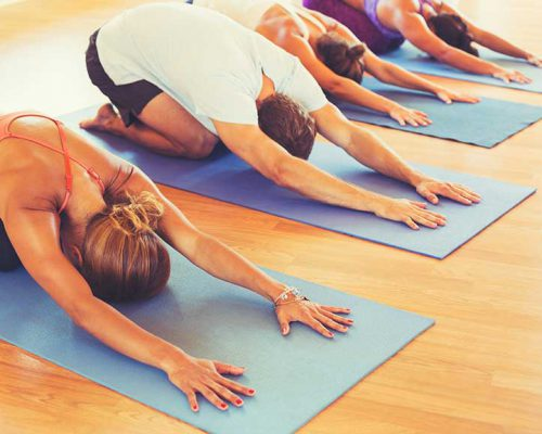 Morning yoga in heidelberg