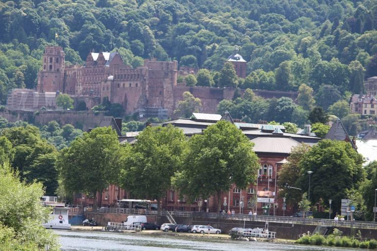 Heidelberg castle - international yoga day