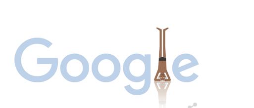 Google Doodle for Yoga Guru