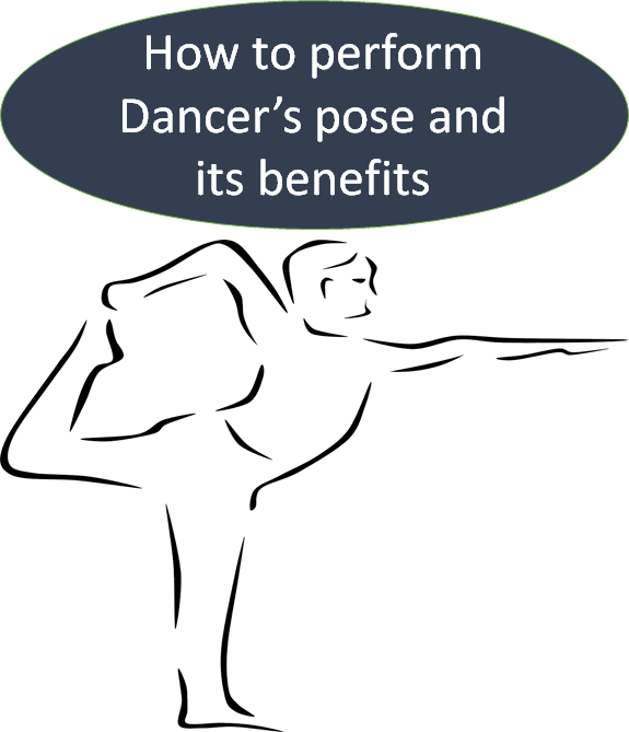 How to perform Dancer's pose