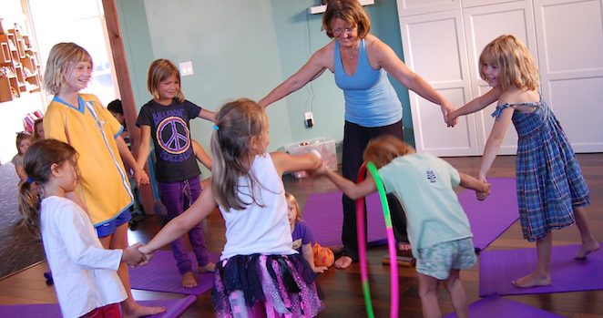 YogaKids Class in Action