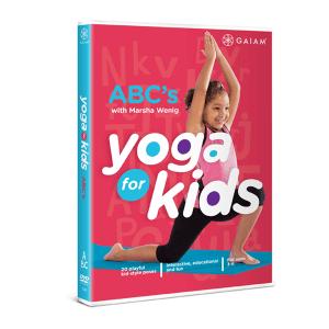 YogaKids ABC DVD