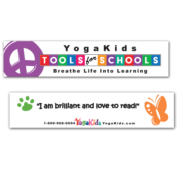 YogaKids Tools for Schools Bookmark
