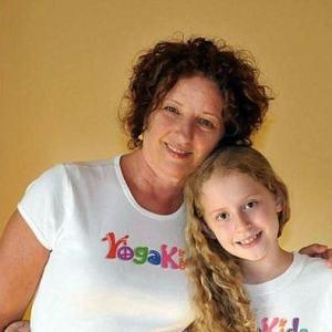 Marsha YogaKids Logo T-Shirt Woman's