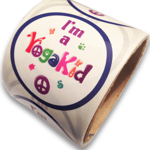 I'm a YogaKids Stickers Roll
