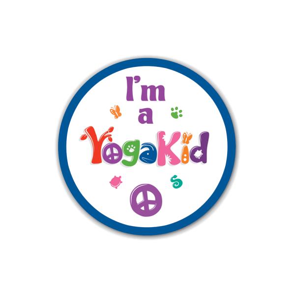 I'm a YogaKids Sticker