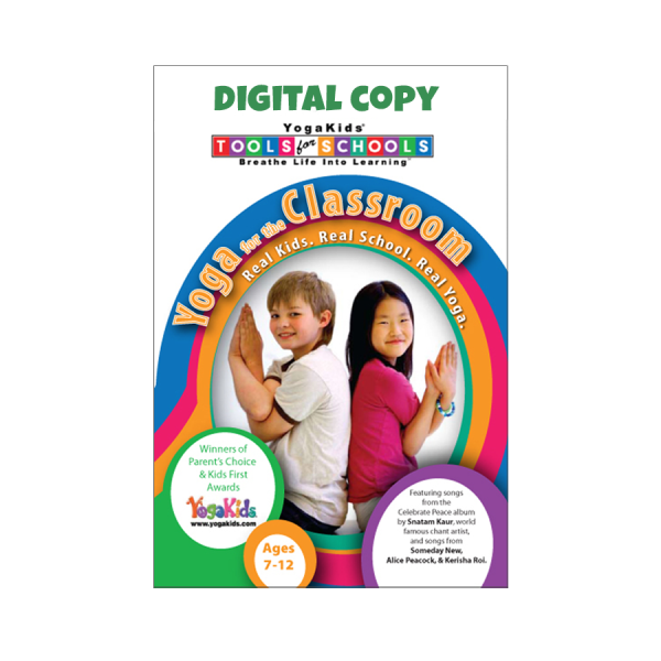 YogaKids Tools for Schools Classroom Digital Download Copy