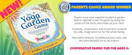 Yoga Garden Game - Parent Choice Award Winner, The Yoga Garden Game! Cooperative Family Fun for Ages 4+
