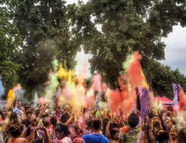 Les couleurs de Holi