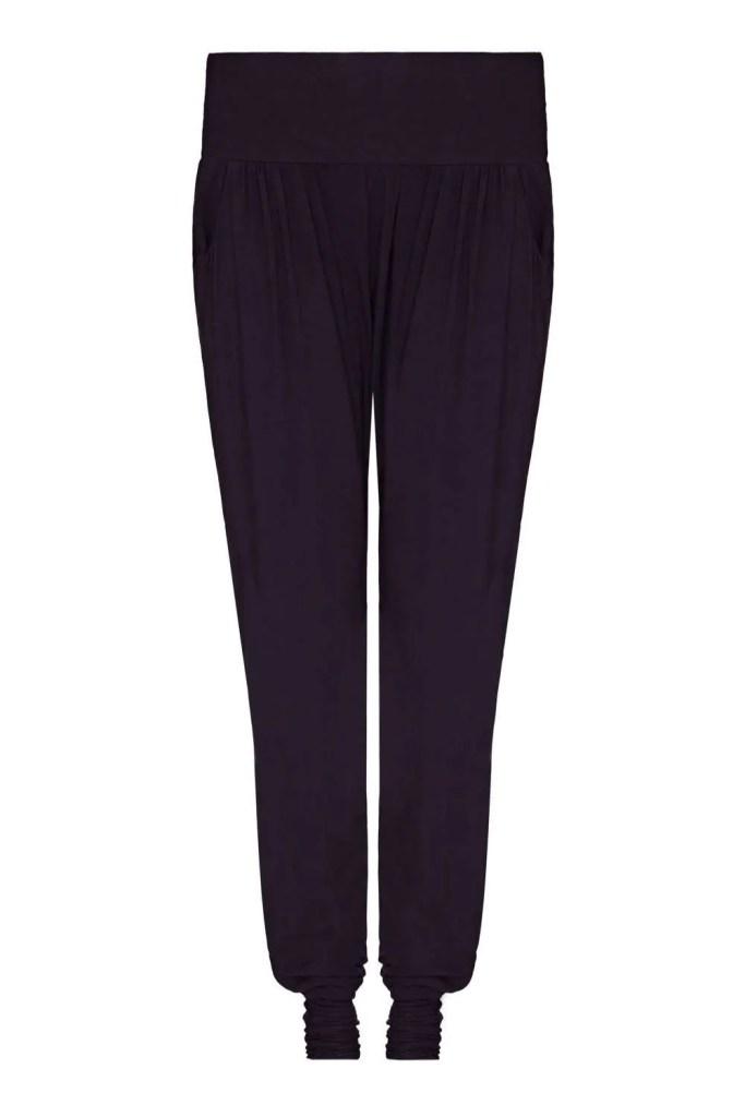 Harem_Black Yoga Pants