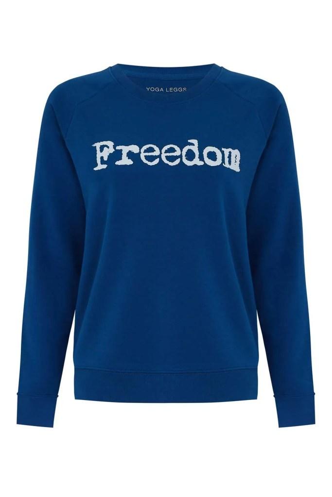 Freedom - sweater - blue_F
