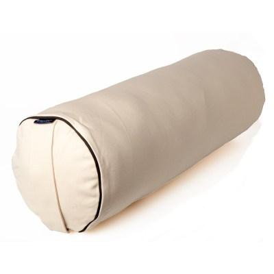 Bolster – Putkityyny- KAPOK täyte –  Luonnonvalkoinen – Yogalife