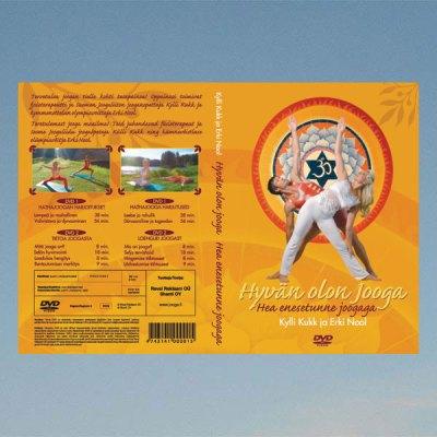 Hyvän olon jooga – Kylli Kukk ja Erki Nool – DVD