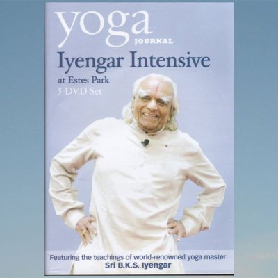 Iyengar Intensive at Estes Park 5x DVD Set – Sri B.K.S. Iyengar