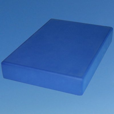 Tukilevy muovi sininen- Yogalife