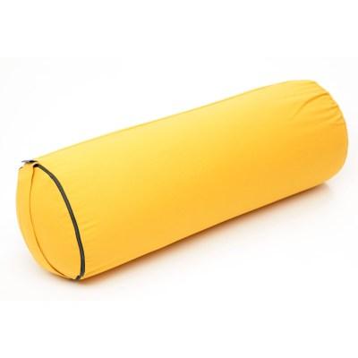 Bolster – Putkityyny – KAPOK täyte -Keltainen – Yogalife