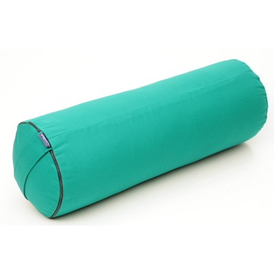 Bolster -Putkityyny Vihreä – KAPOK täyte – Yogalife