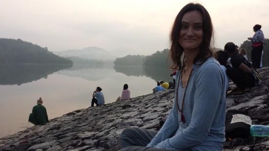 Satsang at Neyyar Dam