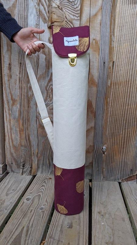 le sac de transport pour tapis de yoga
