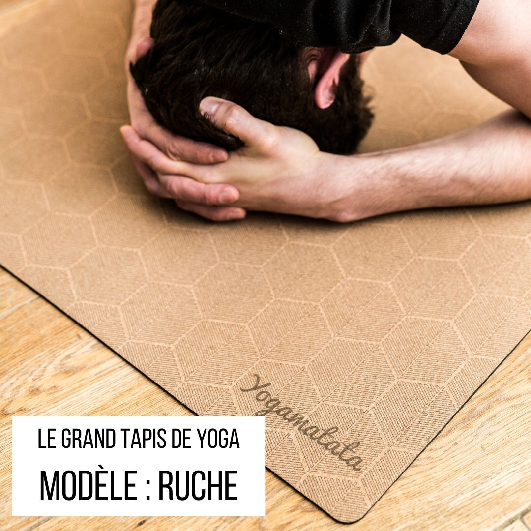 le super grand tapis de yoga confort