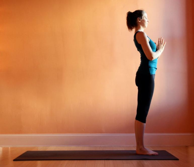 Pranamasana (Prayer Pose)