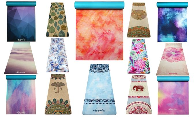 10 Most Beautiful Yoga Mats Designs And Styles