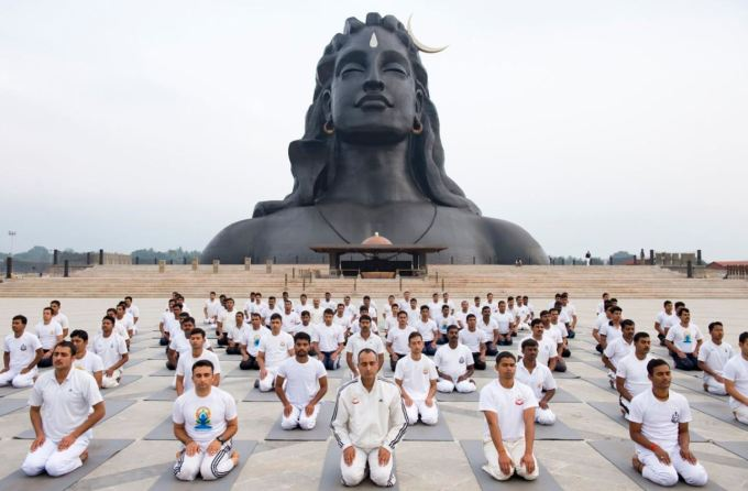 isha yoga center coimbatore
