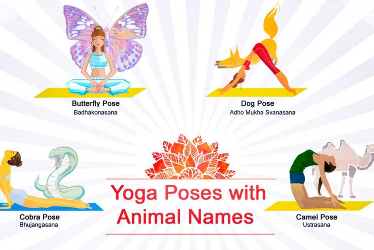 Yoga Asanas Named After Animals